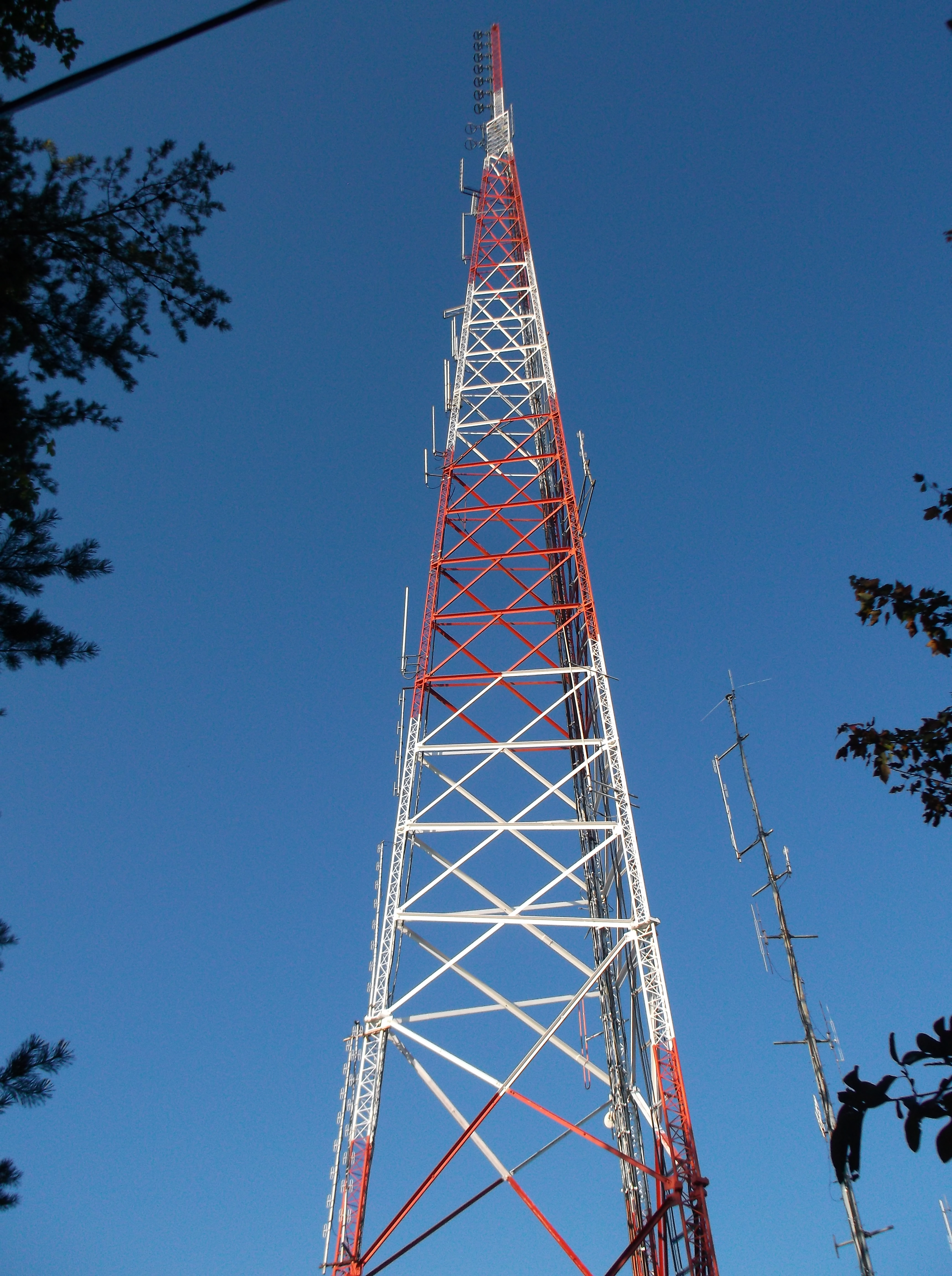 WIVK-FM tower, home of WB4GBI 146.94